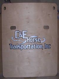 Call Fritz for your custom made wood burned side boards! 630-561-7923